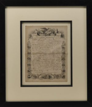 Early Declaration of Independence Signatures