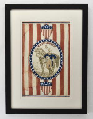 1876 Centennial Banner, George Washington