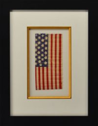 Antique Paper Flag with 28 Stars