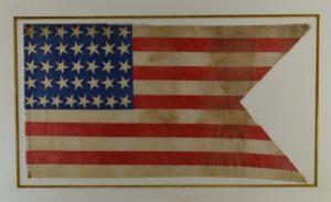 36 Star Civil War Swallowtail Flag