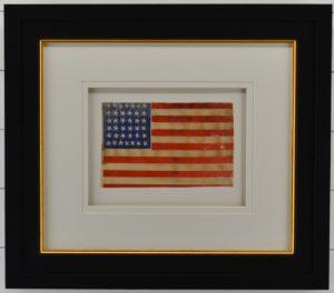 Antique 36 Star Civil War American Flag