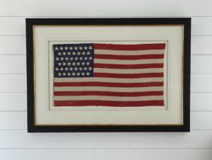 Antique 45 Star Flag Circa 1896