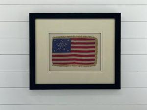 Rare 37 Star American Flag Great Star Pattern