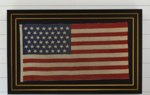 Antique 45 Star American Flag #6068